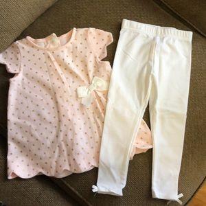 Tahari baby outfit